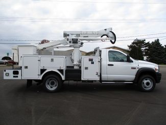 2009 Dodge Ram 5500 4X4 CUMMINS  BUCKET BOOM TRUCK 155K ALTEC AT37G Lake In The Hills, IL 5