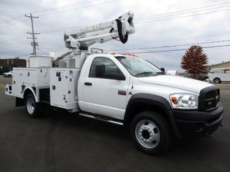 2009 Dodge Ram 5500 4X4 CUMMINS  BUCKET BOOM TRUCK 155K ALTEC AT37G Lake In The Hills, IL 6