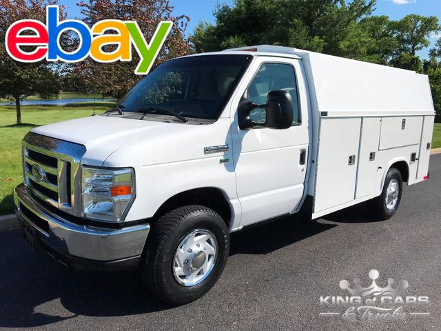 2009 Ford E350 Utility Service WALK IN UTILITY VAN 97K MILES 1-OWNER
