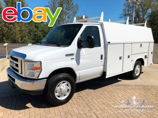 2009 Ford E350 Utility SERVICE WALK IN VAN LOW MILES 5.4L V8 1-OWNER
