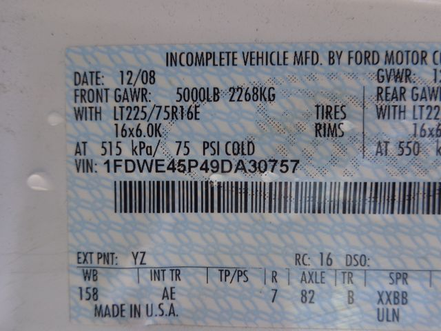2009 Ford E450 Hoosick Falls, New York 7