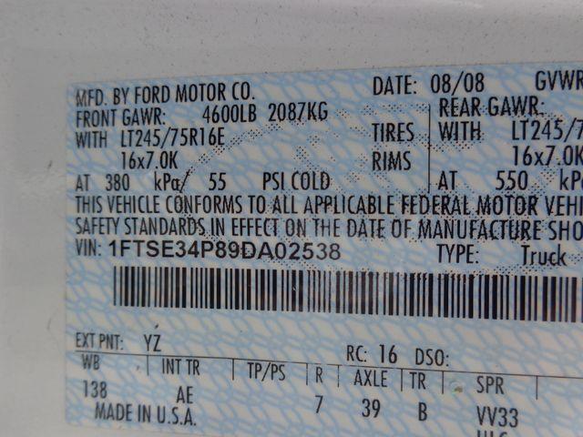2009 Ford Econoline Cargo Van Commercial Hoosick Falls, New York 7