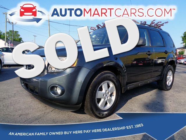 2009 Ford Escape XLT | Nashville, Tennessee | Auto Mart Used Cars Inc. in Nashville Tennessee
