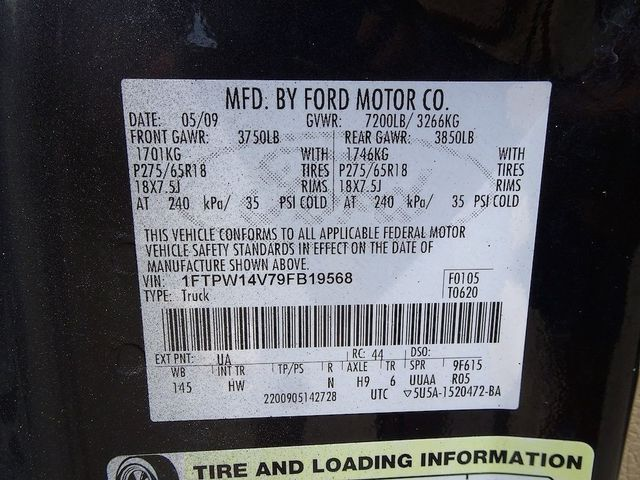 2009 Ford F-150 Lariat Madison, NC 53