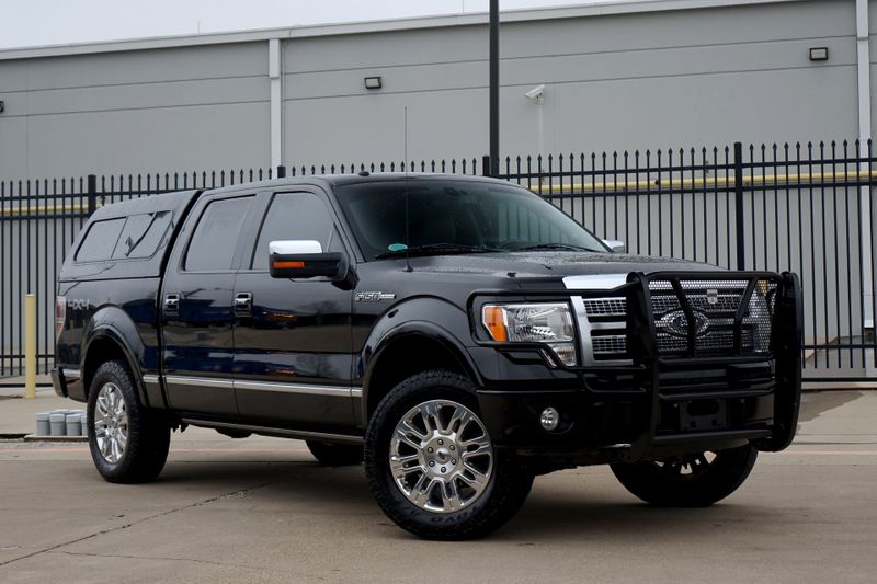 2009 Ford F-150 Platinum* Low Miles* One Owner* 4x4* NAV* BU Cam**   Plano, TX   Carrick's Autos in Plano TX