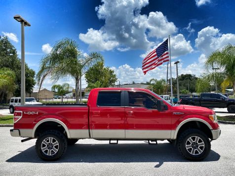 2009 Ford F-150 LARIAT LIFTED LEATHER NAV 4X4 CREW in Plant City, Florida