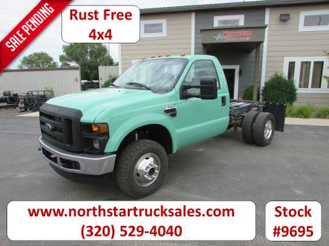 2009 Ford F-350 4x4 Reg Cab Manual Trans Cab Chassis  in St Cloud, MN