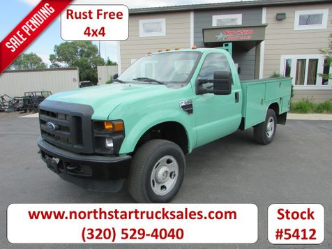 2009 Ford F-350 4x4 Reg Cab Service Utility Truck  in St Cloud, MN