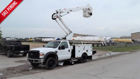 2009 Ford F-550 4X4 42FT REACH  ALTEC BUCKET A/C LOW MILES in Fort Worth, TX