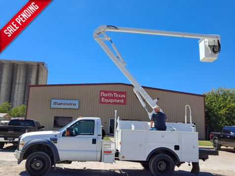 2009 Ford F-550 4X4 37' VERSALIFT  NON-INSULATED BUCKET TRUCK in Fort Worth, TX