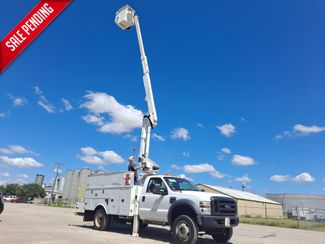 2009 Ford  F-550 4X4 40' ALTEC ARTICULATING & TELESCOPIC in Fort Worth, TX