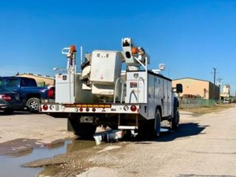 2009 Ford F-550 4X4 Bucket Truck 42 FT REACH VERSALIFT ARTICULATING  TELESCOPIC  city TX  North Texas Equipment  in Fort Worth, TX