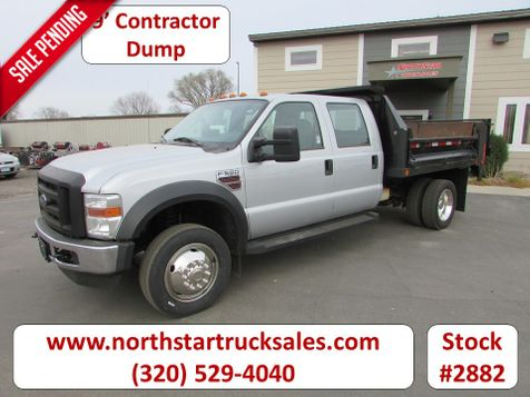 2009 Ford F-550 Crew-Cab Dump Truck  in St Cloud, MN