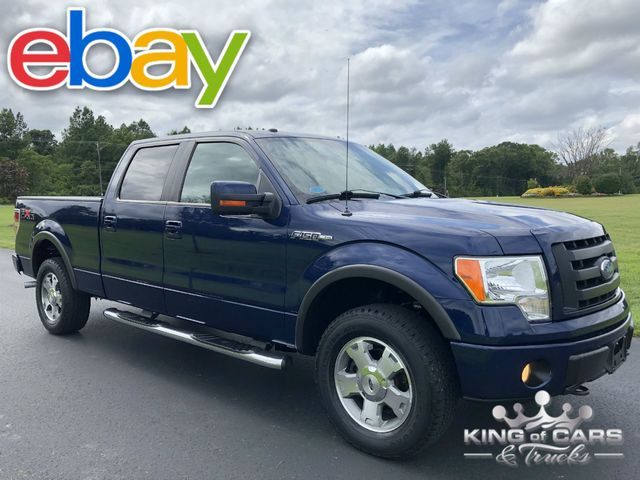 2009 Ford F150 Crew Cab FX4 5.4L LOW MILES 1OWNER 4X4 LEATHER SUNROOF
