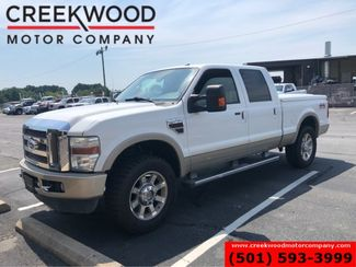 2009 Ford Super Duty F-250 King Ranch 4x4 Diesel White Nav Sunroof Chrome 20s in Searcy, AR 72143