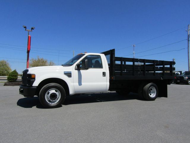 2009 Ford F350 12' Flatbed Stake Truck 2wd with Lift Gate