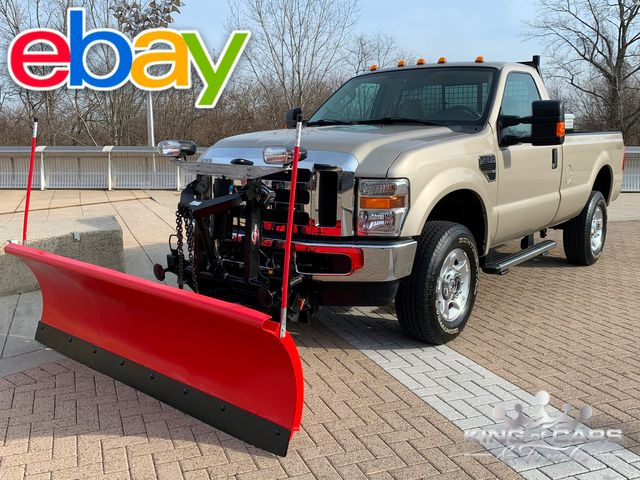 2009 Ford F350 Rcab 4x4 5.4L V8 1-OWNER ONLY 19K MILES WOW W/ PLOW