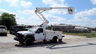 2009 Ford F450 4wd Bucket Truck  LOW MILES  45FT  in Fort Worth, TX