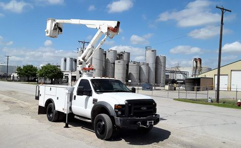 2009 Ford F450 4wd Bucket Truck  LOW MILES  45FT   VERSALIFT SYSTEM in Fort Worth, TX