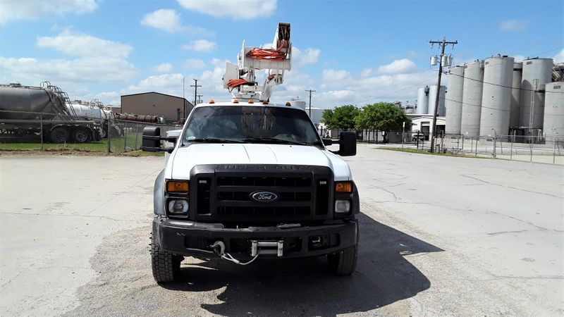 2009 Ford F450 4wd Bucket Truck  LOW MILES  45FT   VERSALIFT SYSTEM  city TX  North Texas Equipment  in Fort Worth, TX