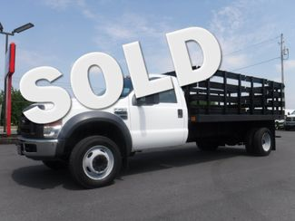 2009 Ford F450 14FT Stake Truck 2wd V10 Gas in Lancaster, PA PA