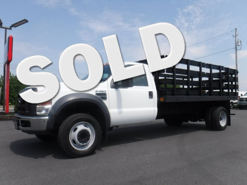 2009 Ford F450 14FT Stake Truck 2wd V10 Gas in Ephrata PA