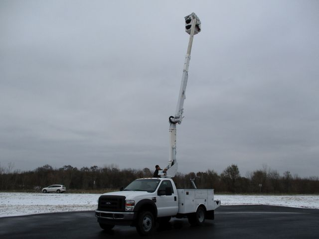 2009 Ford F550 DIESEL 83K BUCKET BOOM TRUCK XL Lake In The Hills, IL 18