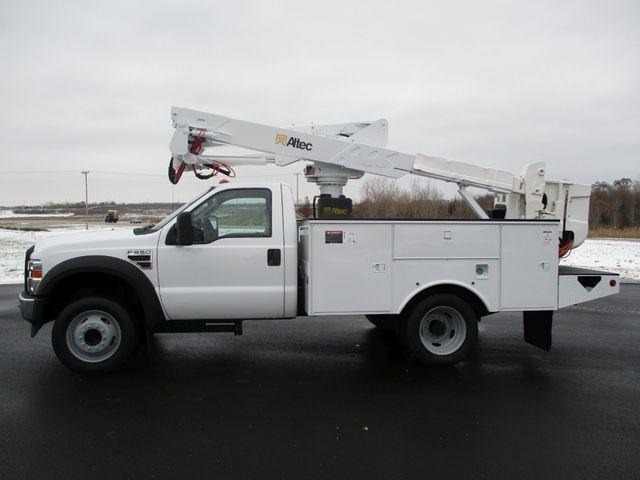 2009 Ford F550 DIESEL 83K BUCKET BOOM TRUCK XL Lake In The Hills, IL 1