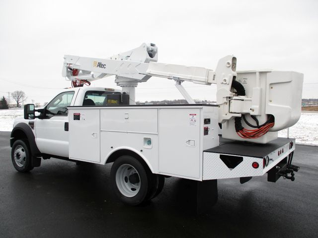 2009 Ford F550 DIESEL 83K BUCKET BOOM TRUCK XL Lake In The Hills, IL 2