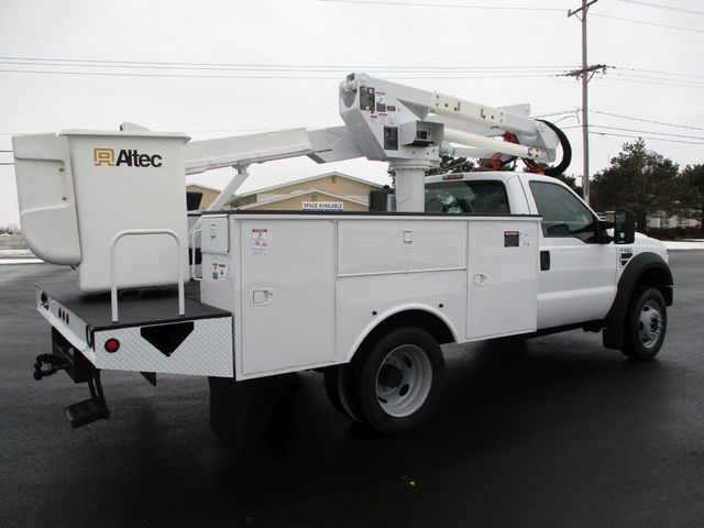 2009 Ford F550 DIESEL 83K BUCKET BOOM TRUCK XL Lake In The Hills, IL 4
