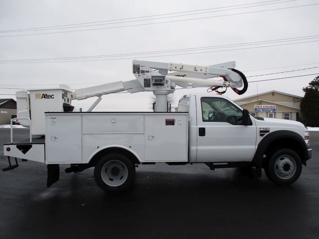 2009 Ford F550 DIESEL 83K BUCKET BOOM TRUCK XL Lake In The Hills, IL 5