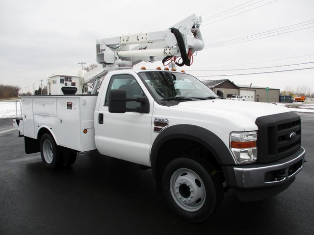2009 Ford F550 DIESEL 83K BUCKET BOOM TRUCK XL Lake In The Hills, IL 6