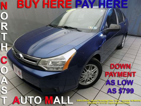 2009 Ford Focus SE As low as $799 DOWN in Cleveland, Ohio
