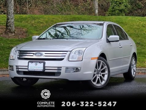 2009 Ford Fusion SEL V6 Local 1 Owner 75,000 Miles Blue Suede Pkg Moonroof in Seattle