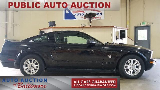 2009 Ford MUSTANG    JOPPA, MD   Auto Auction of Baltimore  in Joppa MD