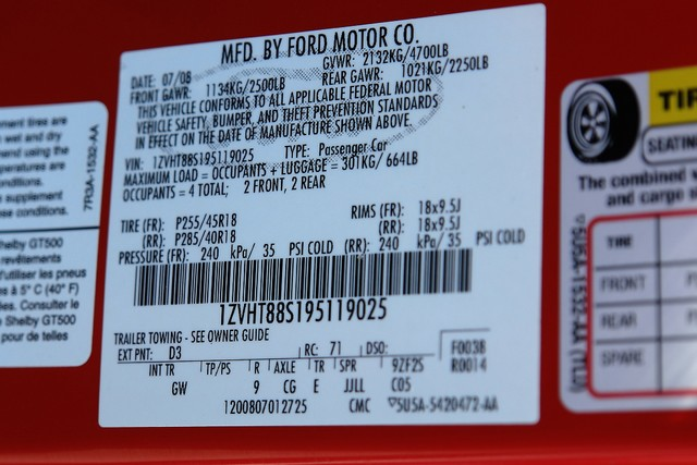 2009 Ford Mustang Shelby GT500 Phoenix, AZ 32