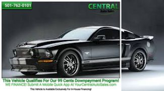 2009 Ford MUSTANG/PW  | Hot Springs, AR | Central Auto Sales in Hot Springs AR