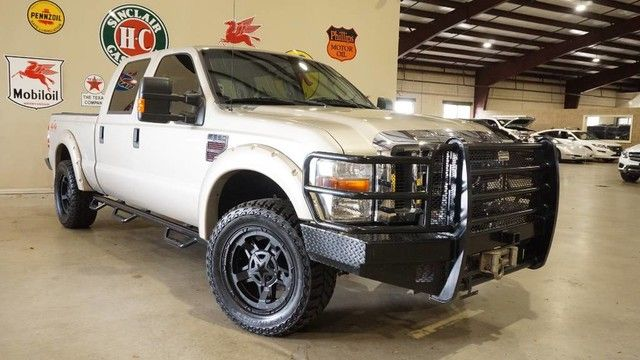 2009 Ford Super Duty F-250 Lariat 4X4 DIESEL,AUTO,RANCH BUMPERS,HTD LTH,BL...