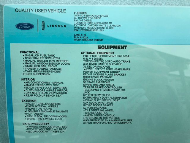 2009 Ford Super Duty F-250 XL in Gower Missouri, 64454