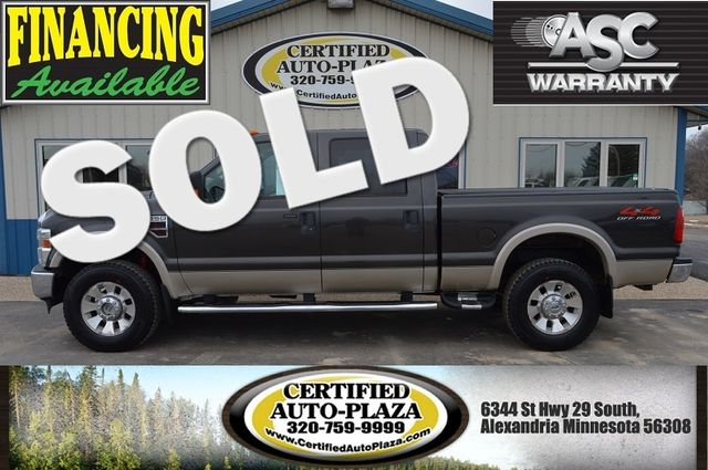 2009 Ford Super Duty F-350 SRW Lariat Supercrew 4x4 in  Minnesota