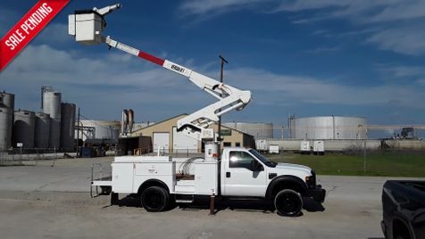 2009 Ford F550 BUCKET/MATERIAL HANDLER   LOW MILES BOOM TRUCK in Fort Worth, TX