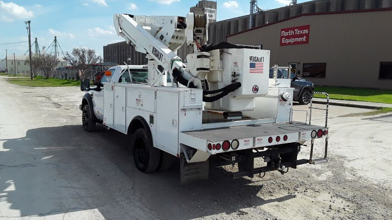2009 Ford F550 BUCKETMATERIAL HANDLER   LOW MILES BOOM TRUCK  city TX  North Texas Equipment  in Fort Worth, TX