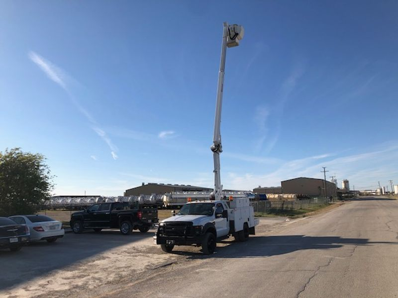 2009 Ford  F-550 42FT Bucket Truck ETI TELESCOPIC ARTICULATED INSLATED BOOM  city TX  North Texas Equipment  in Fort Worth, TX