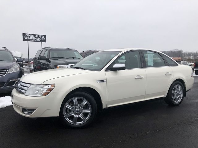 2009 Ford Taurus Limited AWD V6 Sunroof Clean Carfax We Finance | Canton, Ohio | Ohio Auto Warehouse LLC in Canton Ohio