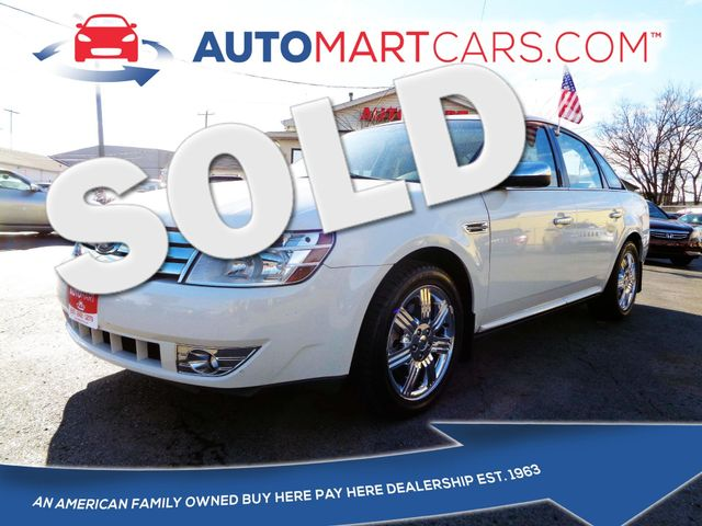 2009 Ford Taurus Limited   Nashville, Tennessee   Auto Mart Used Cars Inc. in Nashville Tennessee