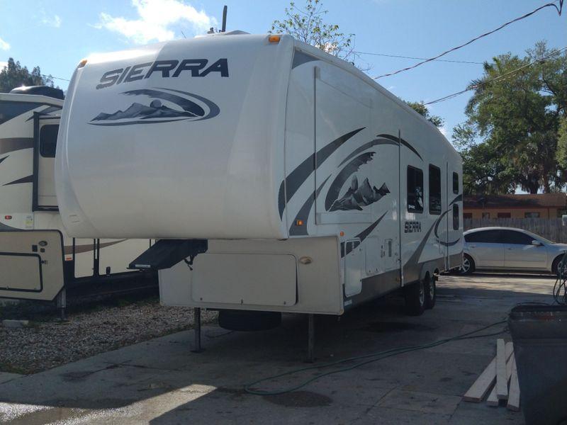 2009 Forest River SIERRA(M-3550 QBQ)   city FL  Manatee RV  in Palmetto, FL