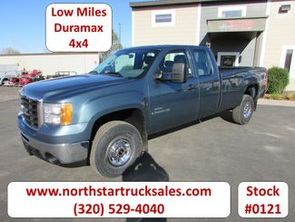 2009 GMC 3500HD Duramax 4x4 Ext-Cab Long Box Pickup in St Cloud, MN