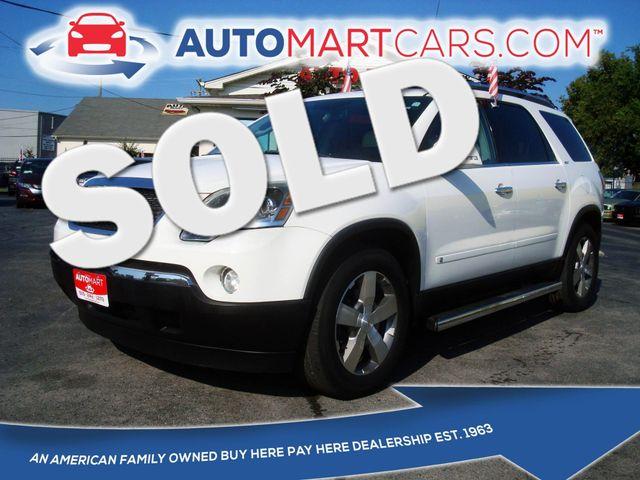 2009 GMC Acadia SLT2 | Nashville, Tennessee | Auto Mart Used Cars Inc. in Nashville Tennessee