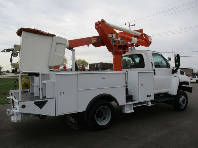 2009 GMC C5500 4X4 DIESEL JIB BUCKET BOOM TRUCK Lake In The Hills, IL 4
