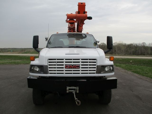 2009 GMC C5500 4X4 DIESEL JIB BUCKET BOOM TRUCK Lake In The Hills, IL 7